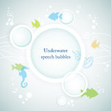 Fond sous-marin Photo libre de droits