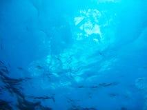 Fond sous-marin d'océan Image stock