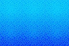 fond sous-marin Texture de l'eau Illustration de vecteur avec la surface profonde d'aqua Été, voyage, marine, vacances illustration stock