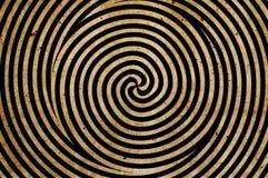 Fond spiralé Images stock