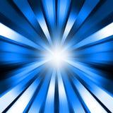 Fond spiralé bleu abstrait Illustration Libre de Droits
