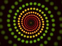 Fond spiralé abstrait Photographie stock libre de droits