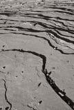 Fond strié de roche Image libre de droits
