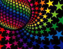 Fond superbe de disco illustration libre de droits