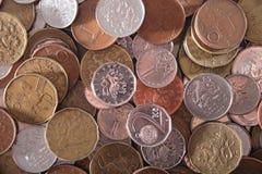 Fond tchèque d'argent Photographie stock libre de droits