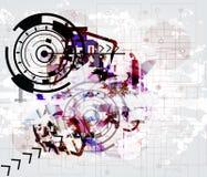 Fond technologic de pointe Image libre de droits