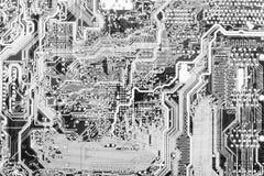 Fond technologique abstrait de circuit Photos libres de droits
