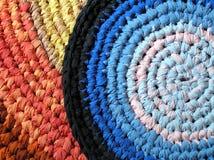 Fond - textile - crochet Photographie stock libre de droits