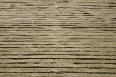 Fond/texture de mur de briques d'Unusal photographie stock