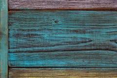 Fond, texture en bois La belle texture a réduit un arbre, les modèles et des remous Type de cru Photos stock