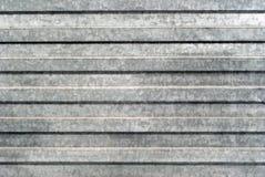 Fond, texture : surface de feuillard galvanisé profilé image libre de droits