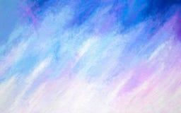 Fond texturisé bleu, pourpre et blanc A pu être employé comme papier peint illustration libre de droits