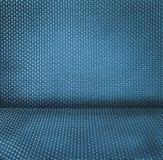 Fond texturisé d'osier bleu Photos libres de droits