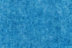 Fond texturisé de couleur bleu-clair de tissu mou Image libre de droits