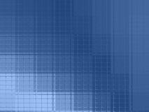 Fond texturisé de dessin abstrait dans le bleu illustration de vecteur