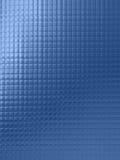 Fond texturisé de dessin abstrait dans le bleu illustration stock