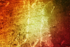 Fond texturisé de grunge colorée photos stock