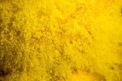 Fond texturisé de grunge jaune Photo stock