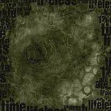 Fond texturisé de grunge monochrome détaillée Photos libres de droits