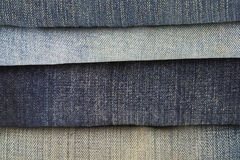 Fond texturisé de jeans Photo libre de droits