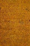 Fond texturisé de mur d'or Image libre de droits