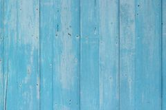 Fond texturisé de mur en bois bleu image libre de droits