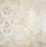 Fond texturisé de mur peint par grunge d'art Images stock