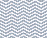 Fond texturisé de tissu de zigzag bleu-clair et blanc Photos libres de droits