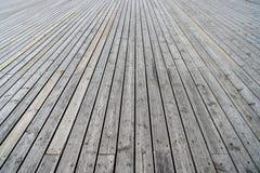 Fond texturisé en bois gris Photographie stock