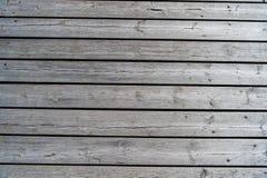 Fond texturisé en bois gris Image stock