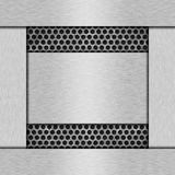 Fond texturisé en métal Image stock