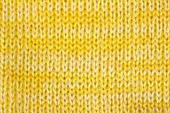 Fond texturisé horizontal tricoté Photographie stock libre de droits