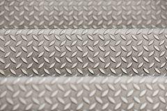 Fond texturisé métallique Images stock