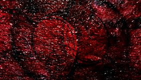Fond texturisé métallique ombragé multicolore de résumé avec des effets de la lumière wallpaper photo libre de droits