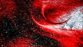 Fond texturisé métallique ombragé rouge de résumé avec des effets de la lumière wallpaper photos libres de droits