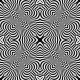 Fond texturisé monochrome d'illusion de conception illustration libre de droits