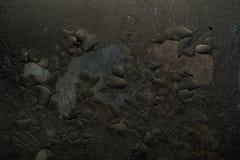 Fond texturisé noir abstrait Images libres de droits