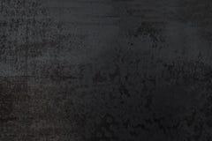 Fond texturisé noir abstrait Mur foncé grunge images stock