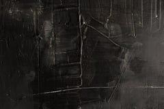 Fond texturisé noir avec des éraflures L'espace pour le texte abrégez le fond L'espace libre Vue Photos stock