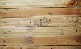 Fond texturisé rayé en bois. Image libre de droits