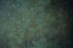 Fond texturisé sale vert-foncé Photos libres de droits