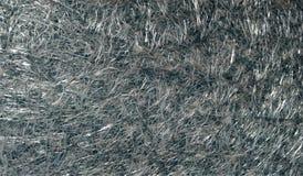 Fond texturisé scintillant métallique brillant gris de résumé avec des effets de la lumière Fond, papier peint images stock