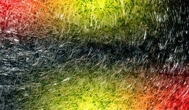 Fond texturisé scintillant métallique brillant ombragé multicolore de résumé avec des effets de la lumière Fond, papier peint photographie stock libre de droits