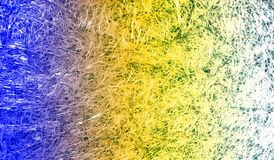 Fond texturisé scintillant métallique brillant ombragé multicolore de résumé avec des effets de la lumière Fond, papier peint photographie stock