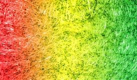 Fond texturisé scintillant métallique brillant ombragé multicolore de résumé avec des effets de la lumière Fond, papier peint photos stock