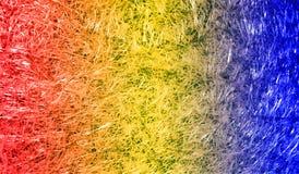 Fond texturisé scintillant métallique brillant ombragé multicolore de résumé avec des effets de la lumière Fond, papier peint image stock