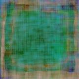 Fond texturisé vert Photo libre de droits