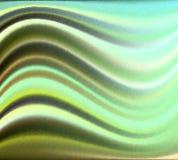 Fond texturisé vert onduleux de vecteur Image stock