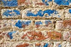 Fond texturis? de vieux mur de briques photographie stock libre de droits