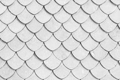 Fond thaïlandais de surface de texture de temple de toit de tuile image libre de droits